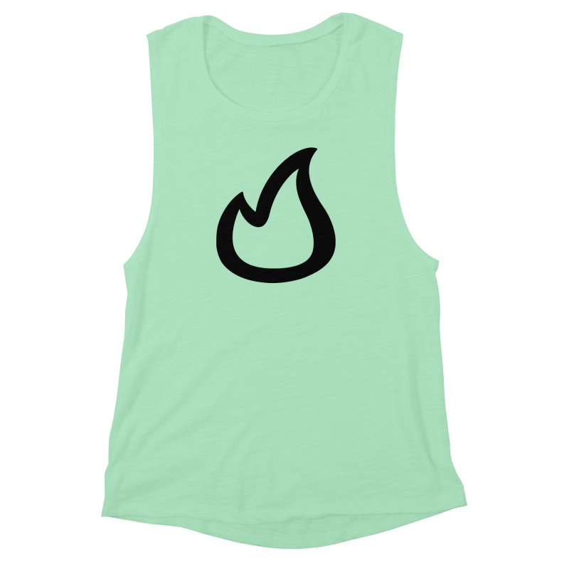 SOFicone Black Women's Muscle Tank by Steps of Faith