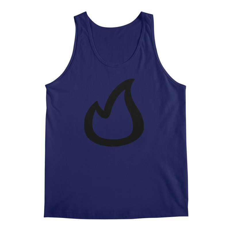 SOFicone Black Men's Regular Tank by Steps of Faith
