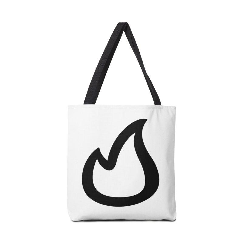 SOFicone Black Accessories Bag by stepsoffaith's Artist Shop