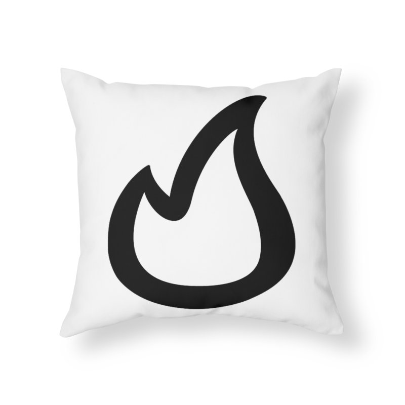 SOFicone Black Home Throw Pillow by Steps of Faith