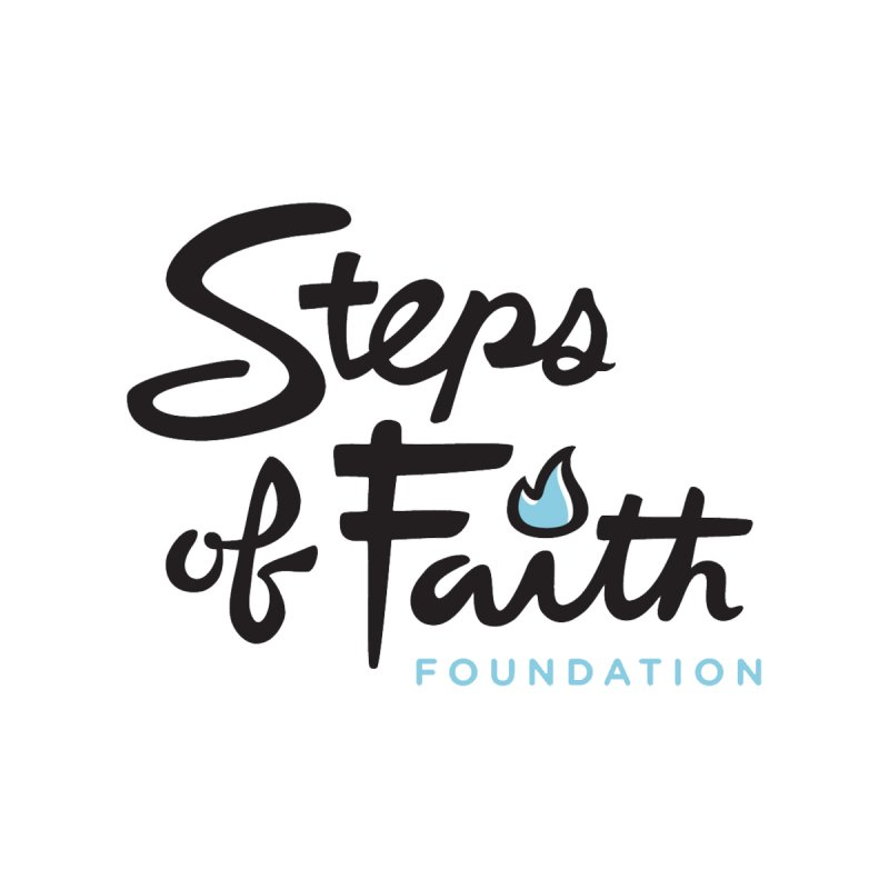 Steps of Faith Logo - Blue by Steps of Faith