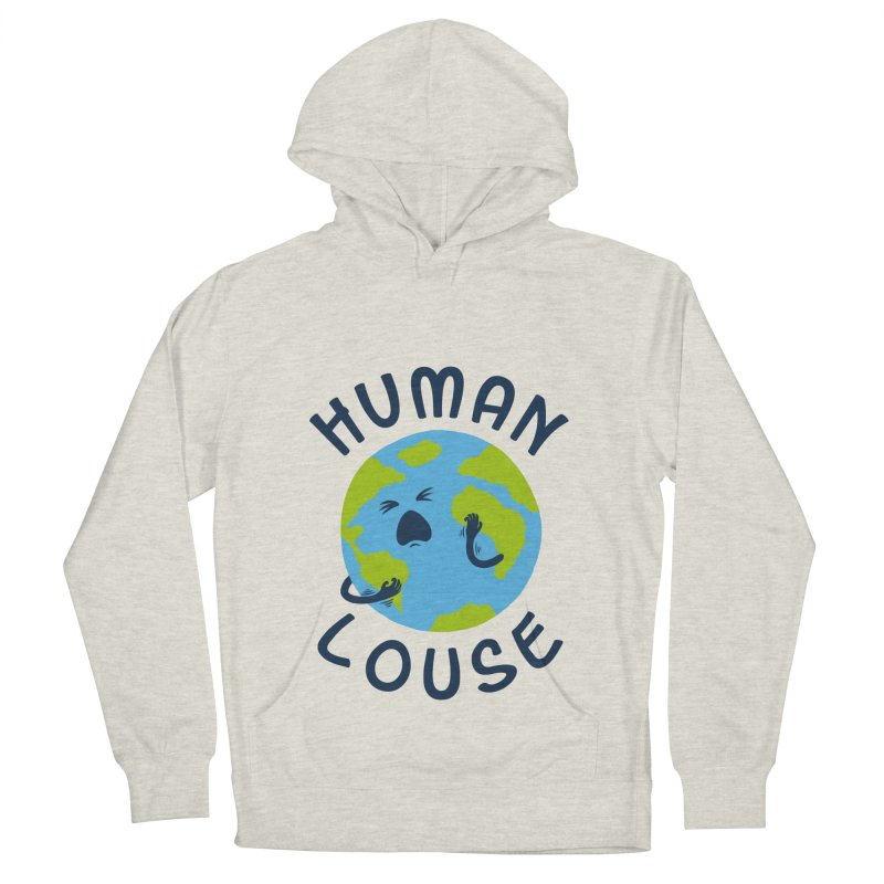 Human louse Women's Pullover Hoody by stereomode's Artist Shop