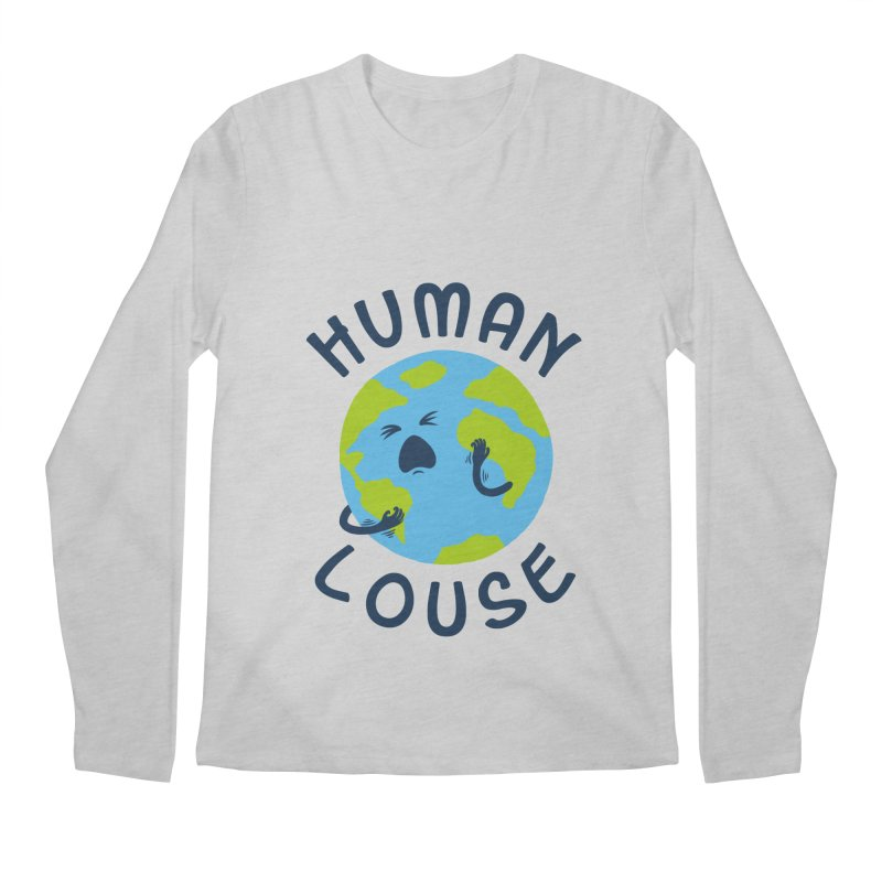 Human louse Men's Longsleeve T-Shirt by stereomode's Artist Shop