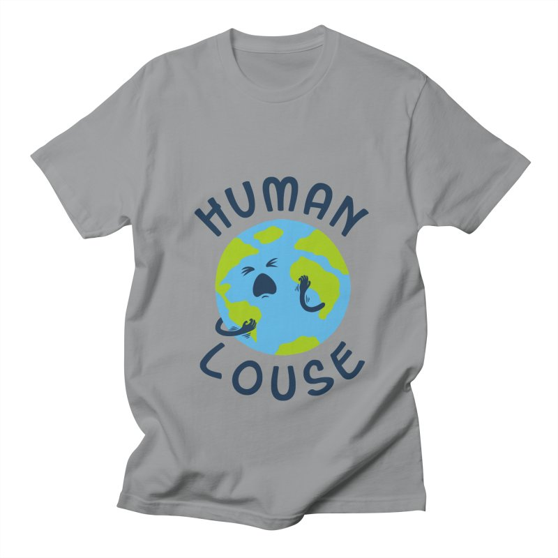 Human louse Men's T-shirt by stereomode's Artist Shop