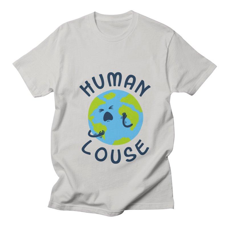 Human louse Men's T-Shirt by stereomode's Artist Shop