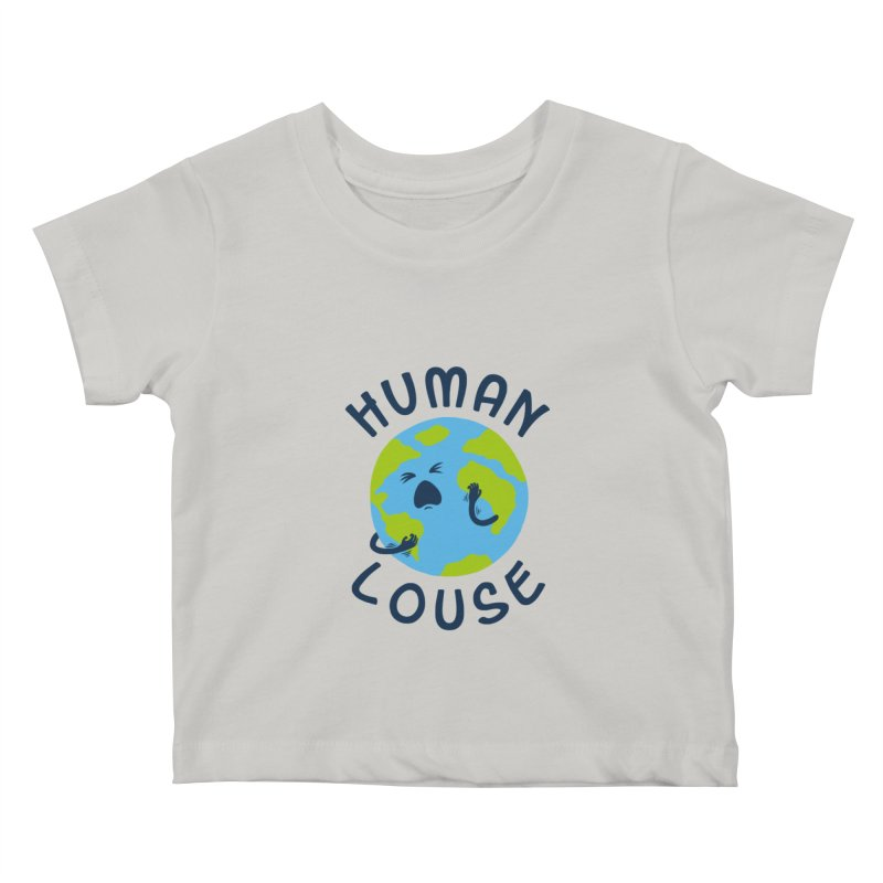 Human louse Kids Baby T-Shirt by stereomode's Artist Shop