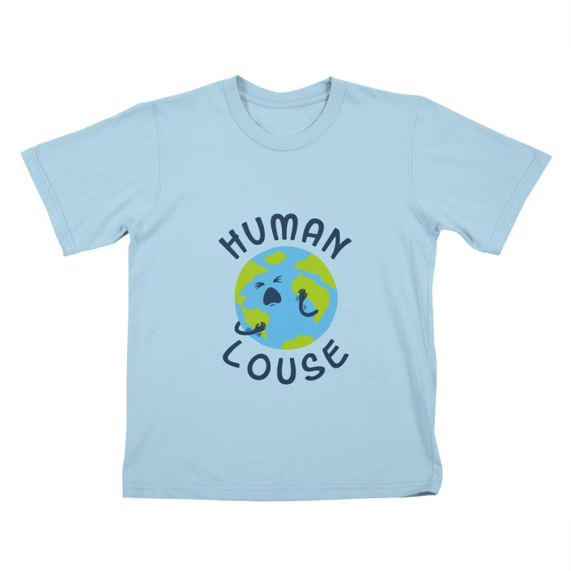 Human louse Kids T-Shirt by stereomode's Artist Shop