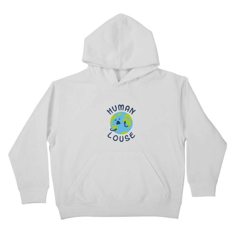 Human louse Kids Pullover Hoody by stereomode's Artist Shop