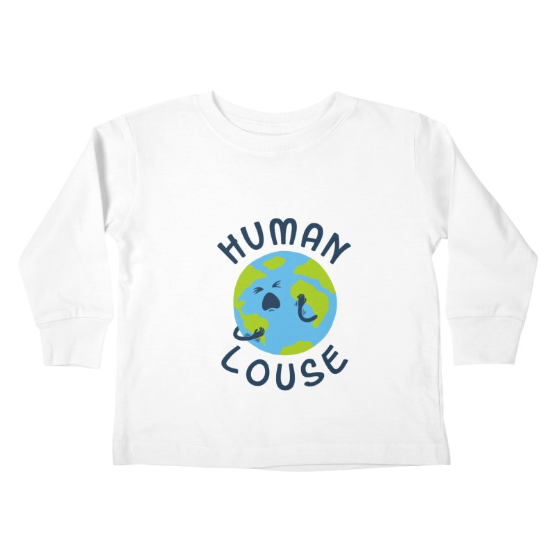 Human louse Kids Toddler Longsleeve T-Shirt by stereomode's Artist Shop