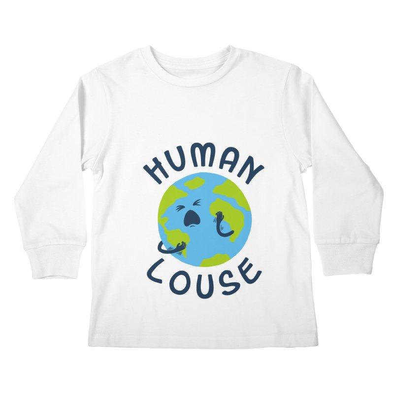 Human louse Kids Longsleeve T-Shirt by stereomode's Artist Shop