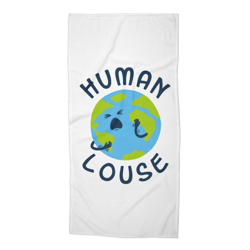 Human louse Accessories Beach Towel by stereomode's Artist Shop