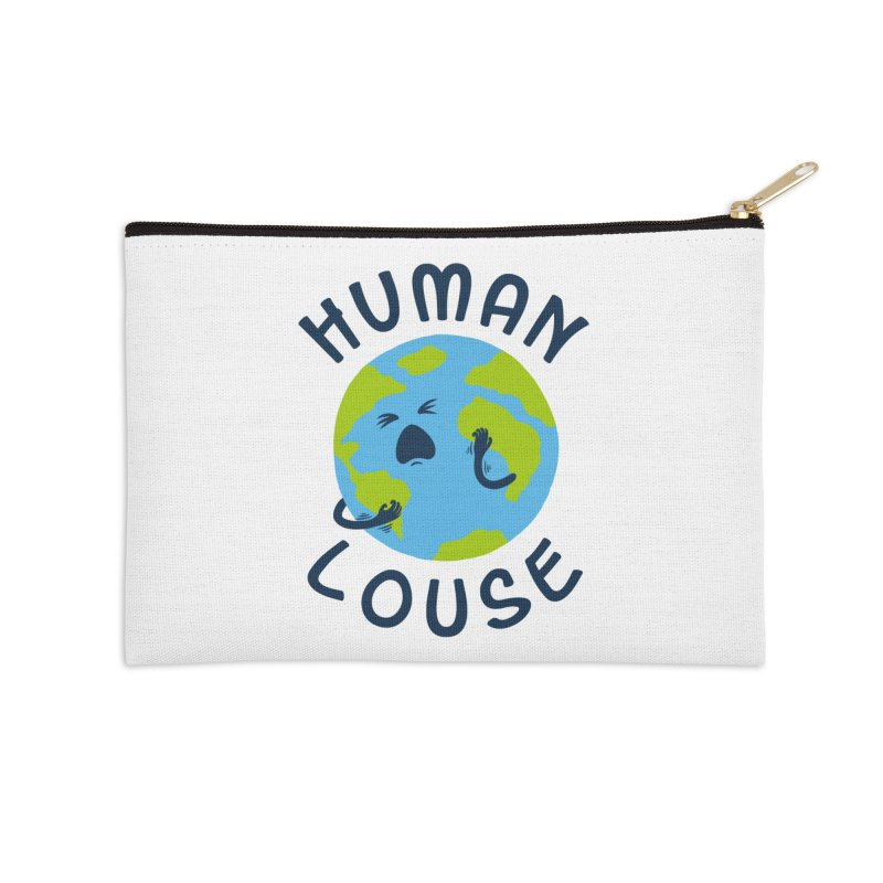 Human louse Accessories Zip Pouch by stereomode's Artist Shop