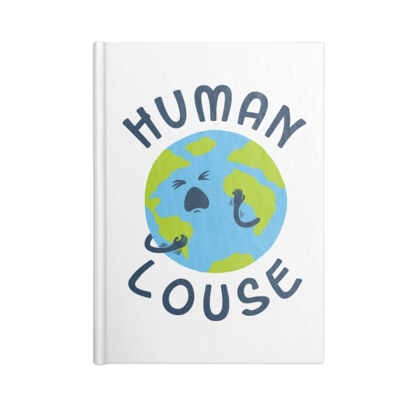 Human louse Accessories Notebook by stereomode's Artist Shop