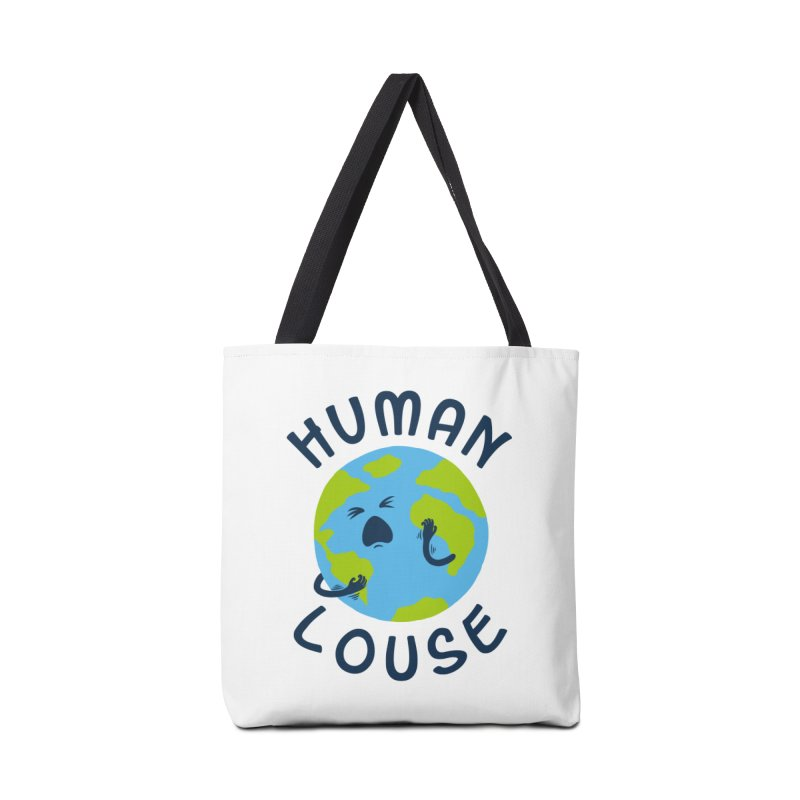 Human louse Accessories Bag by stereomode's Artist Shop