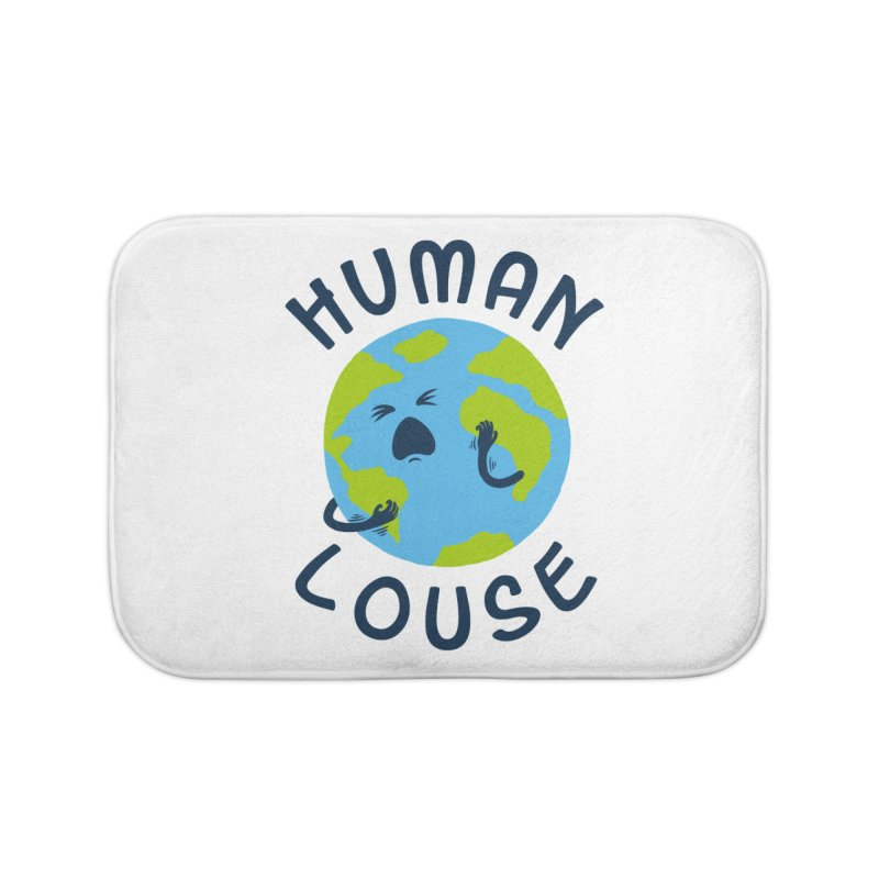 Human louse Home Bath Mat by stereomode's Artist Shop