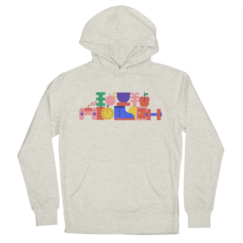 Daily inspiration Women's French Terry Pullover Hoody by stereoplastika's Artist Shop