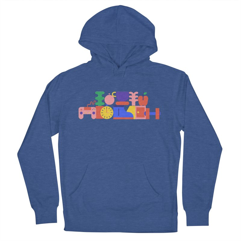 Daily inspiration Men's French Terry Pullover Hoody by stereoplastika's Artist Shop