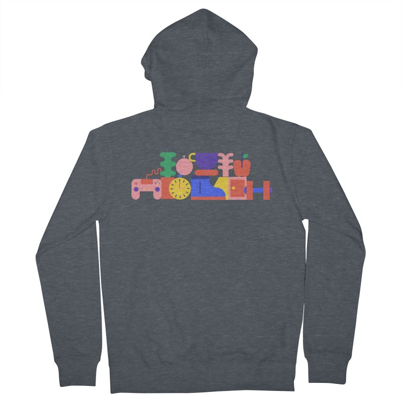 Daily inspiration Men's French Terry Zip-Up Hoody by stereoplastika's Artist Shop
