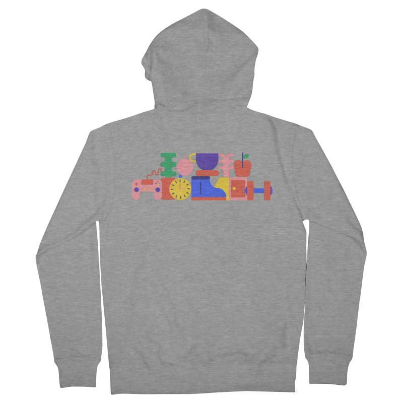 Daily inspiration Men's Zip-Up Hoody by stereoplastika's Artist Shop