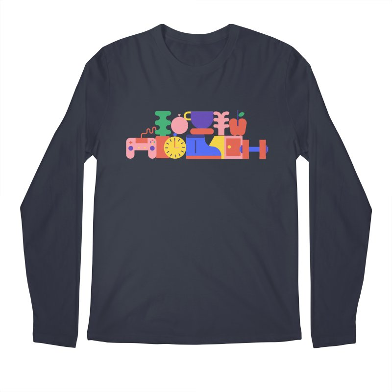 Daily inspiration Men's Longsleeve T-Shirt by stereoplastika's Artist Shop