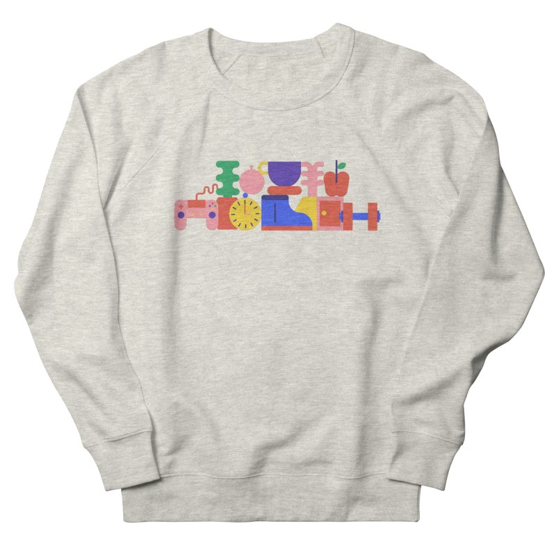 Daily inspiration Men's French Terry Sweatshirt by stereoplastika's Artist Shop