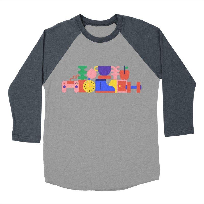 Daily inspiration Women's Baseball Triblend Longsleeve T-Shirt by stereoplastika's Artist Shop
