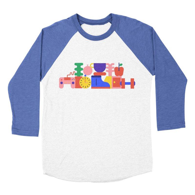Daily inspiration Men's Baseball Triblend Longsleeve T-Shirt by stereoplastika's Artist Shop