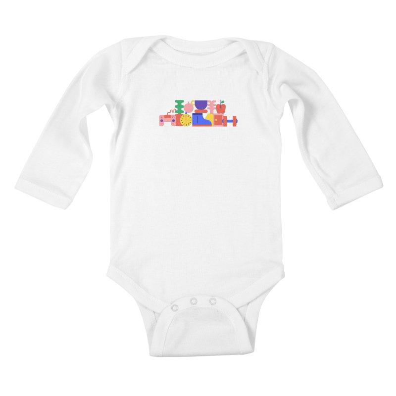 Daily inspiration Kids Baby Longsleeve Bodysuit by stereoplastika's Artist Shop