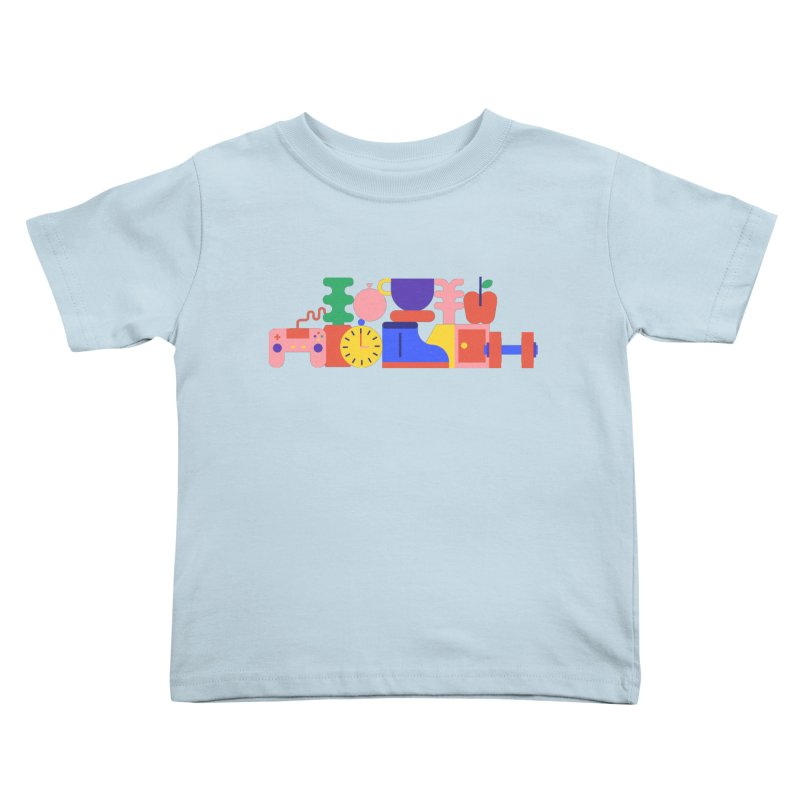 Daily inspiration Kids Toddler T-Shirt by stereoplastika's Artist Shop