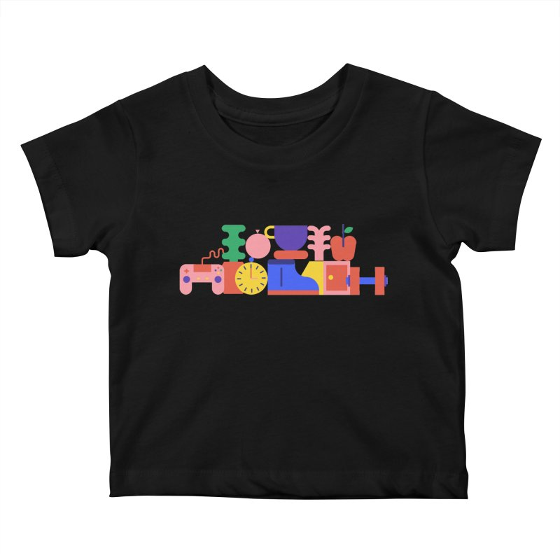 Daily inspiration Kids Baby T-Shirt by stereoplastika's Artist Shop
