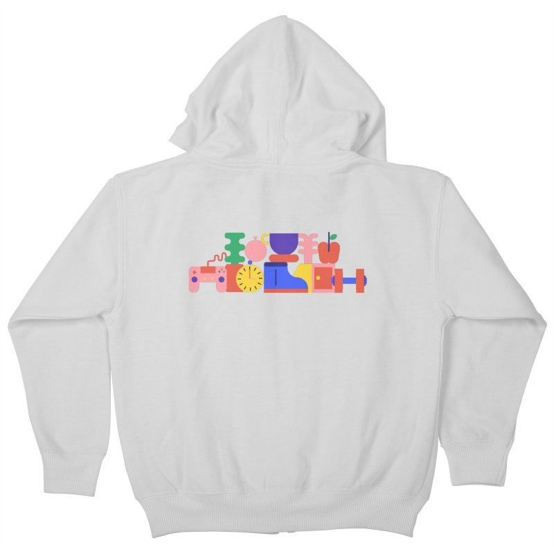 Daily inspiration Kids Zip-Up Hoody by stereoplastika's Artist Shop