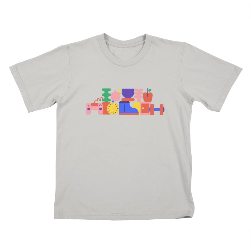 Daily inspiration Kids T-shirt by stereoplastika's Artist Shop