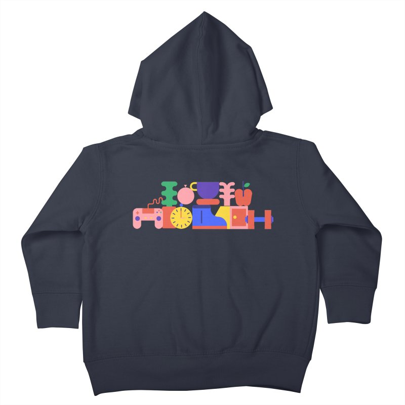 Daily inspiration Kids Toddler Zip-Up Hoody by stereoplastika's Artist Shop
