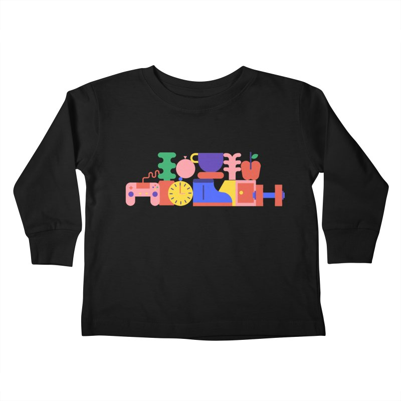 Daily inspiration Kids Toddler Longsleeve T-Shirt by stereoplastika's Artist Shop
