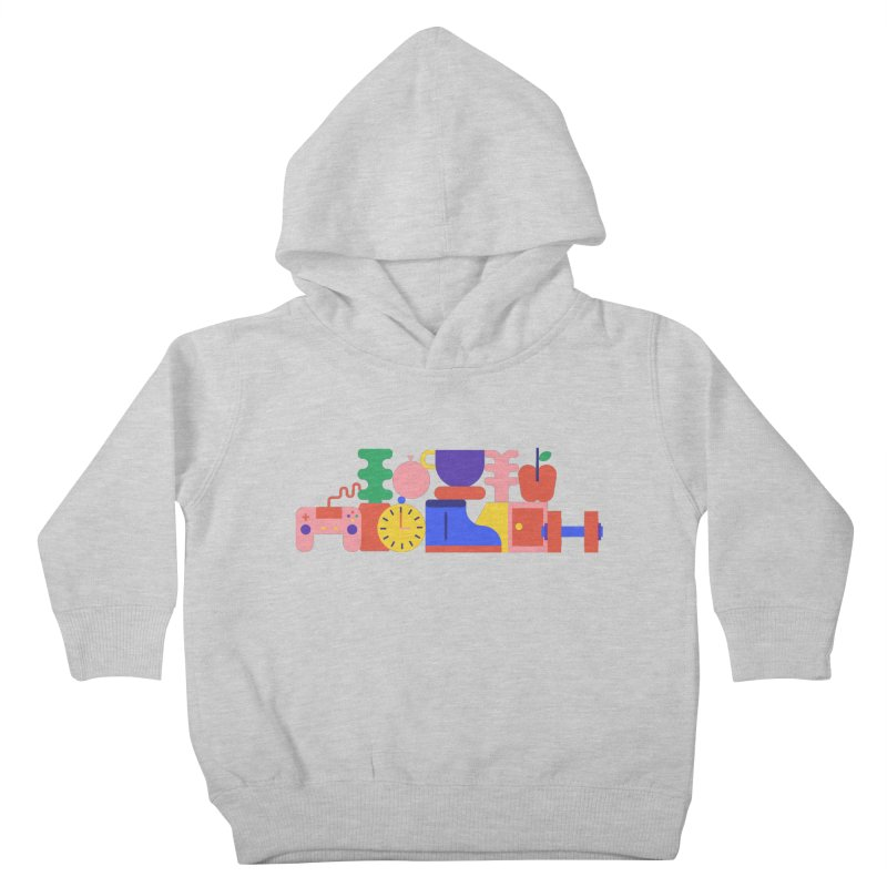 Daily inspiration Kids Toddler Pullover Hoody by stereoplastika's Artist Shop