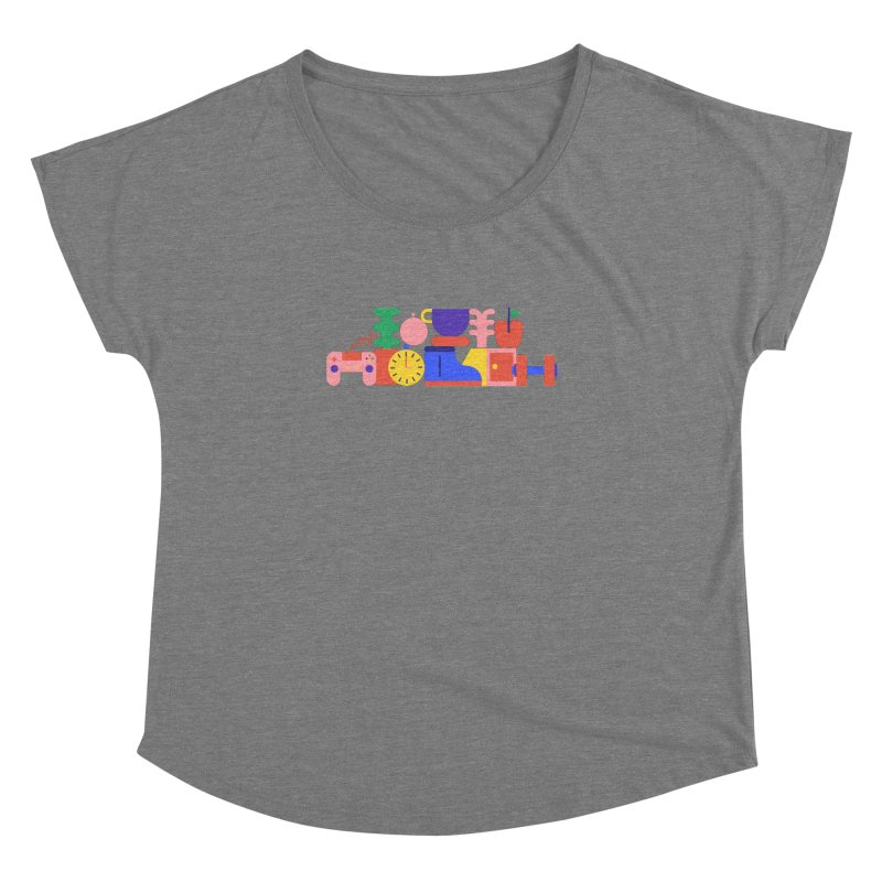 Daily inspiration Women's Dolman Scoop Neck by stereoplastika's Artist Shop
