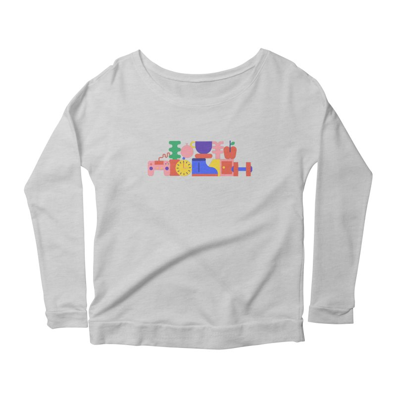 Daily inspiration Women's Longsleeve Scoopneck  by stereoplastika's Artist Shop