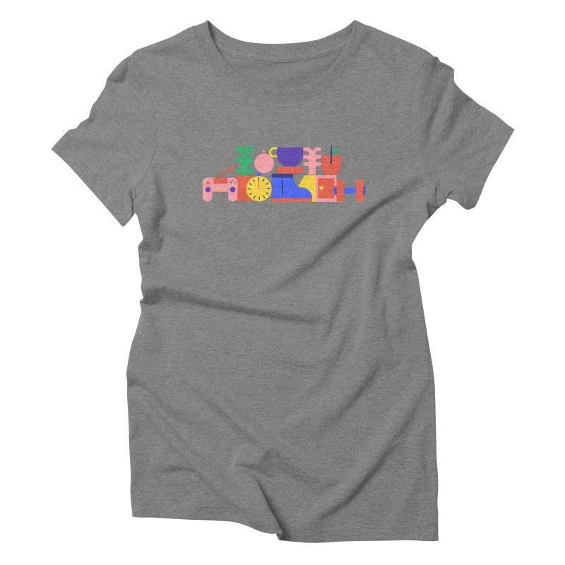 Daily inspiration Women's Triblend T-shirt by stereoplastika's Artist Shop
