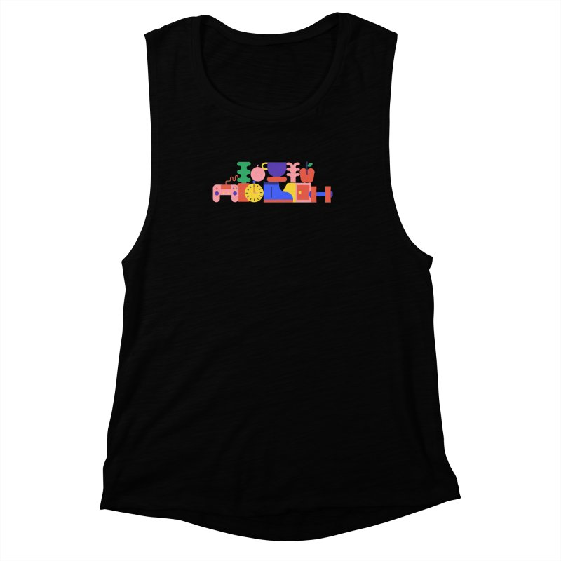 Daily inspiration Women's Muscle Tank by stereoplastika's Artist Shop