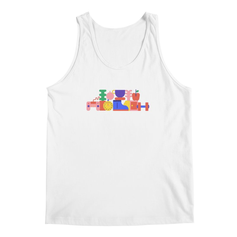 Daily inspiration Men's Tank by stereoplastika's Artist Shop