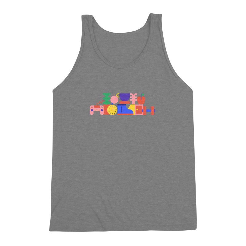 Daily inspiration Men's Triblend Tank by stereoplastika's Artist Shop