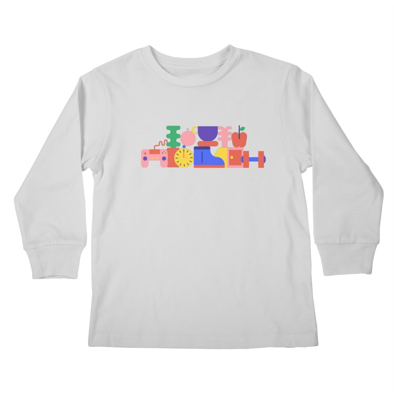 Daily inspiration Kids Longsleeve T-Shirt by stereoplastika's Artist Shop