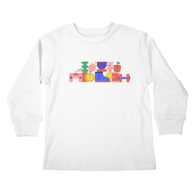 Daily inspiration Kids Longsleeve T-Shirt by stereoplastika's Artist Shop