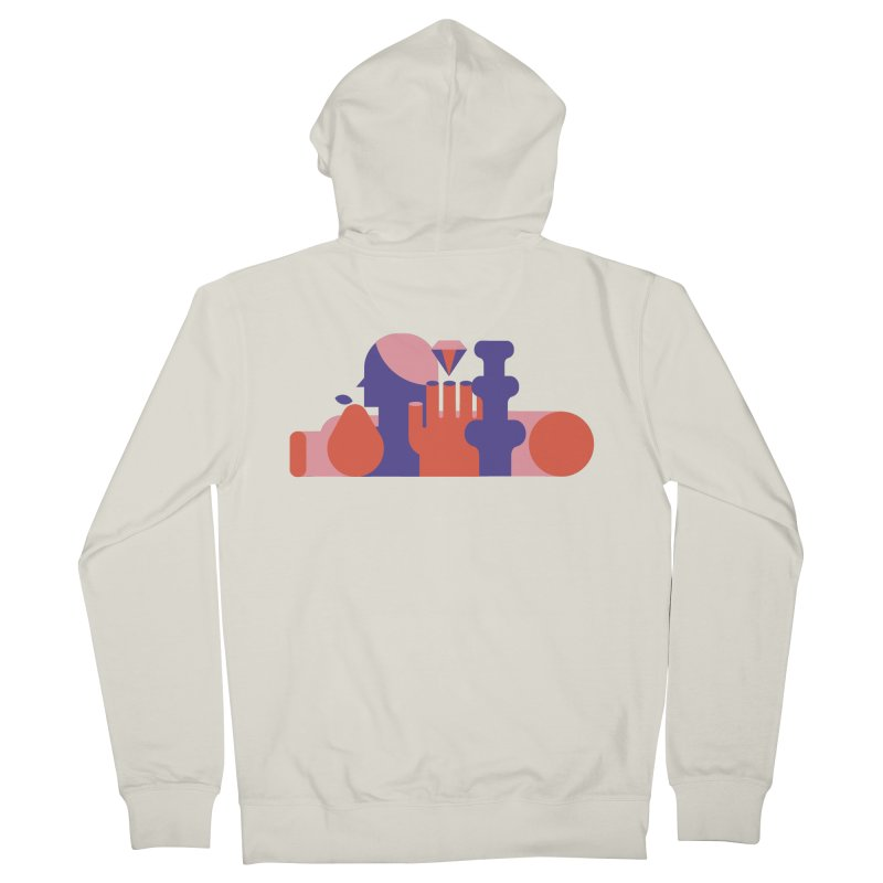 Still Life Men's Zip-Up Hoody by stereoplastika's Artist Shop