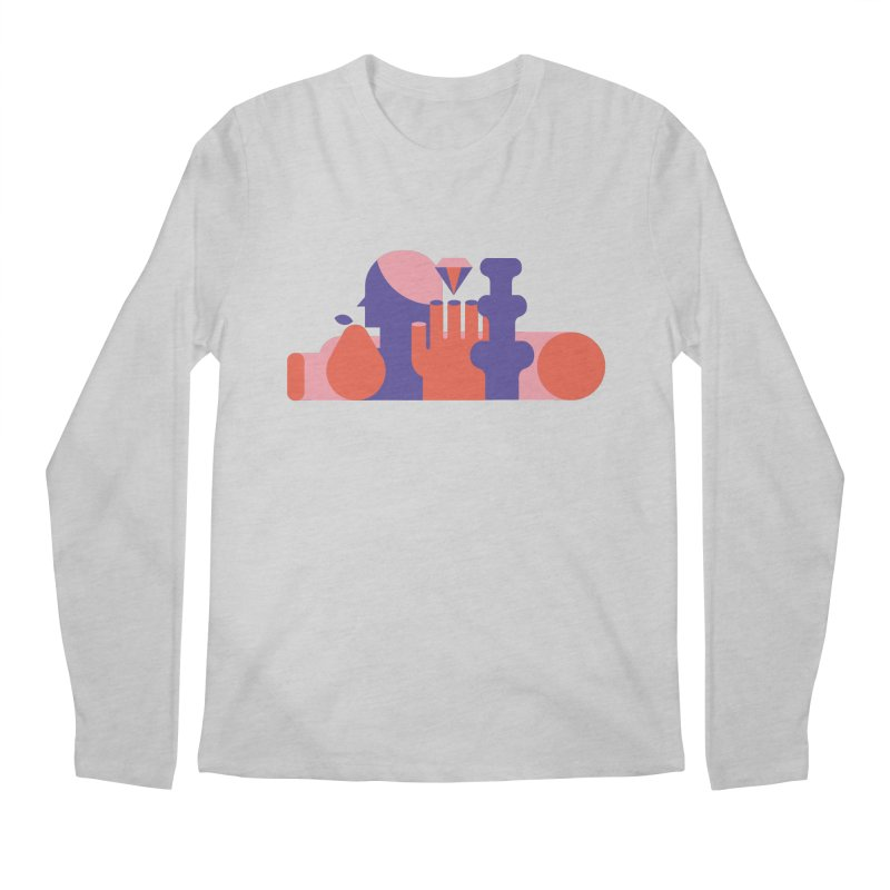 Still Life Men's Regular Longsleeve T-Shirt by stereoplastika's Artist Shop