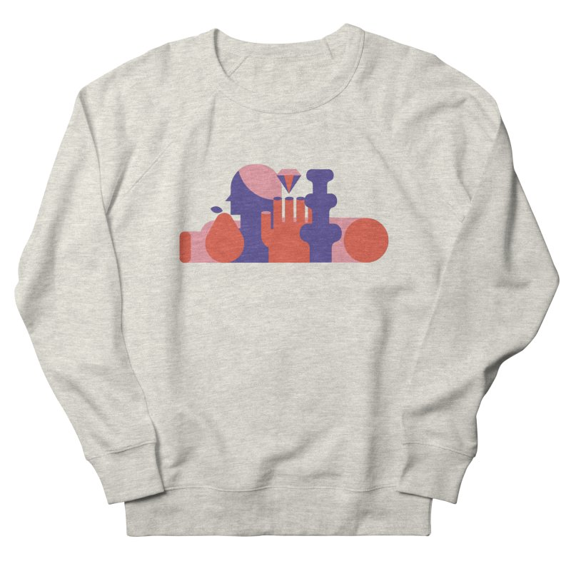 Still Life Women's French Terry Sweatshirt by stereoplastika's Artist Shop