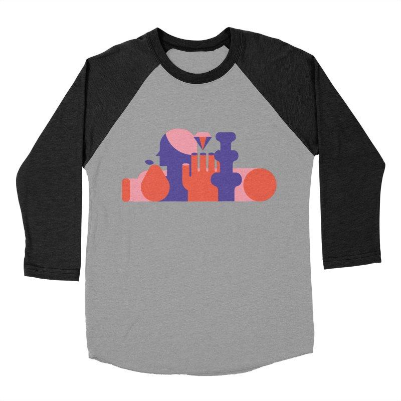 Still Life Women's Baseball Triblend Longsleeve T-Shirt by stereoplastika's Artist Shop