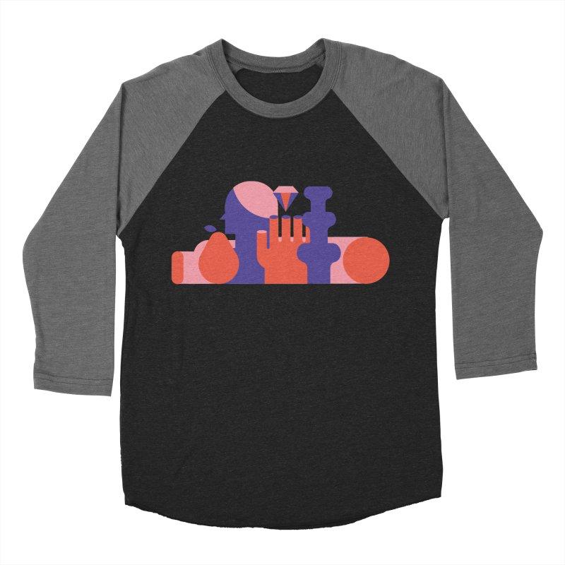 Still Life Men's Baseball Triblend T-Shirt by stereoplastika's Artist Shop