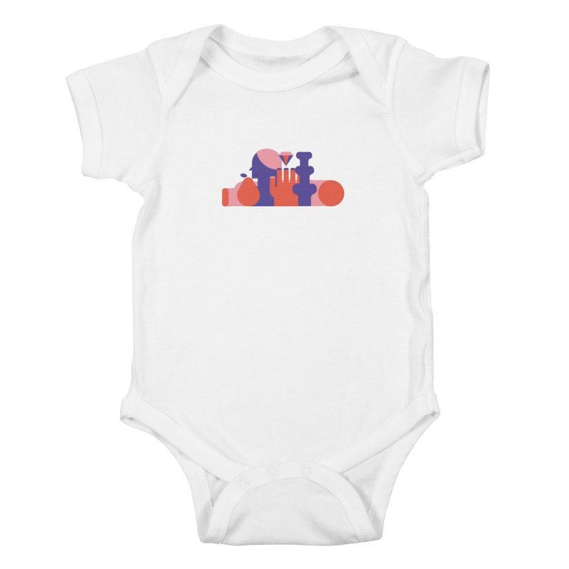 Still Life Kids Baby Bodysuit by stereoplastika's Artist Shop