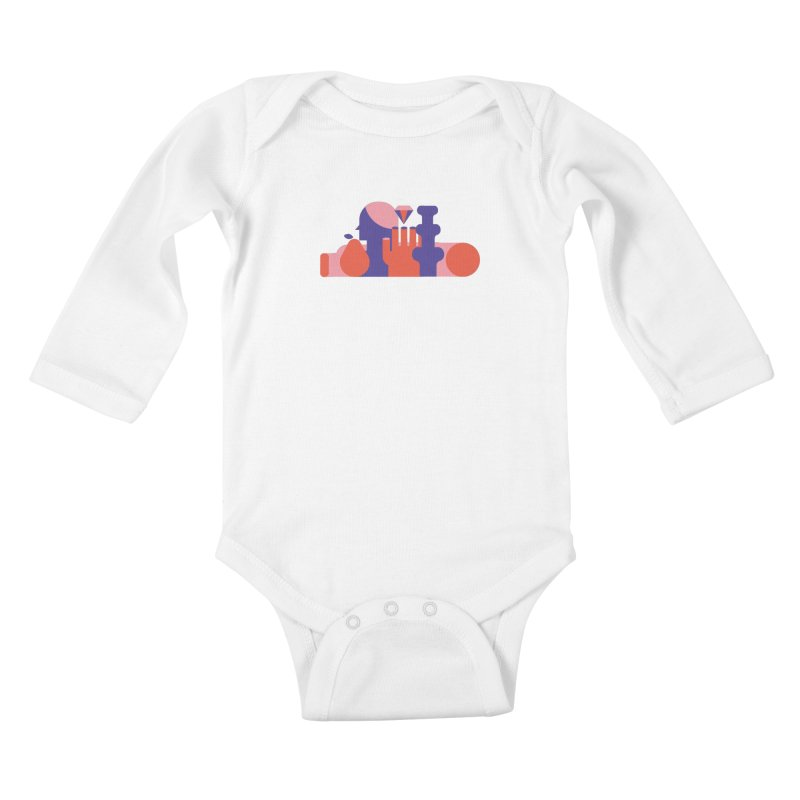 Still Life Kids Baby Longsleeve Bodysuit by stereoplastika's Artist Shop